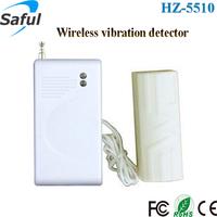 High sensitivity long range transmission wireless vibration sensor/detector alarm