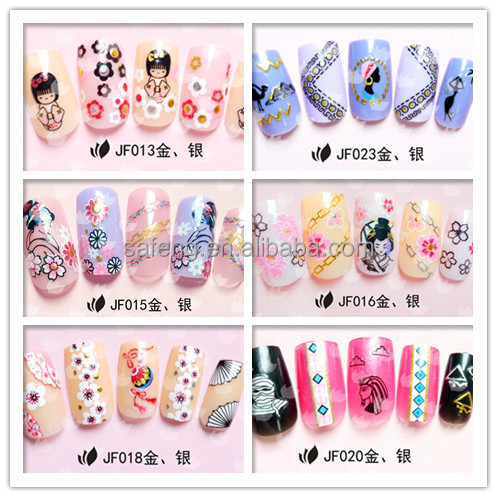 Good custom nail wrap printing