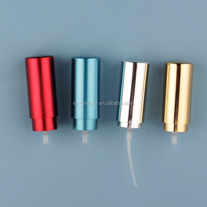 13/415 Aluminum Fine Mist Spray Pump with cap for any color
