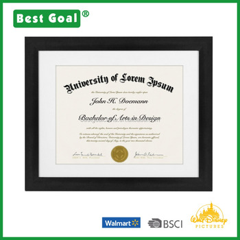 made to display certificates 85x11 inch document frames - Document Frames