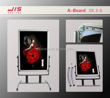 Portable exhibition, shops advertising Usage and aluminium profile sign board