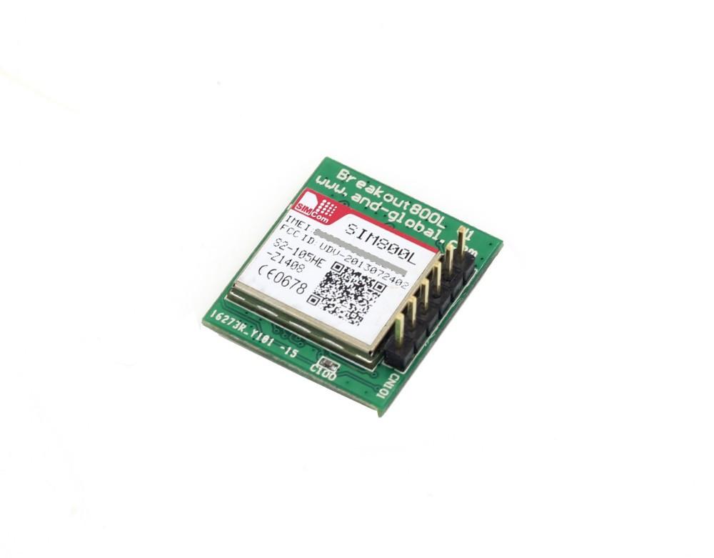 Wholesale-Free shipping SIM800L GPRS Module with PCB Antenna,Automatic  Micro SIM Card,SIM800L breakout board