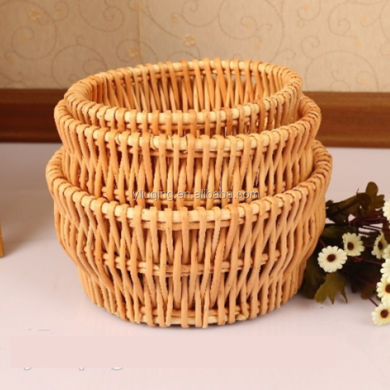 Wicker Basket Manufacturers South Africa : Wholesale natural round wicker basket for plants factory