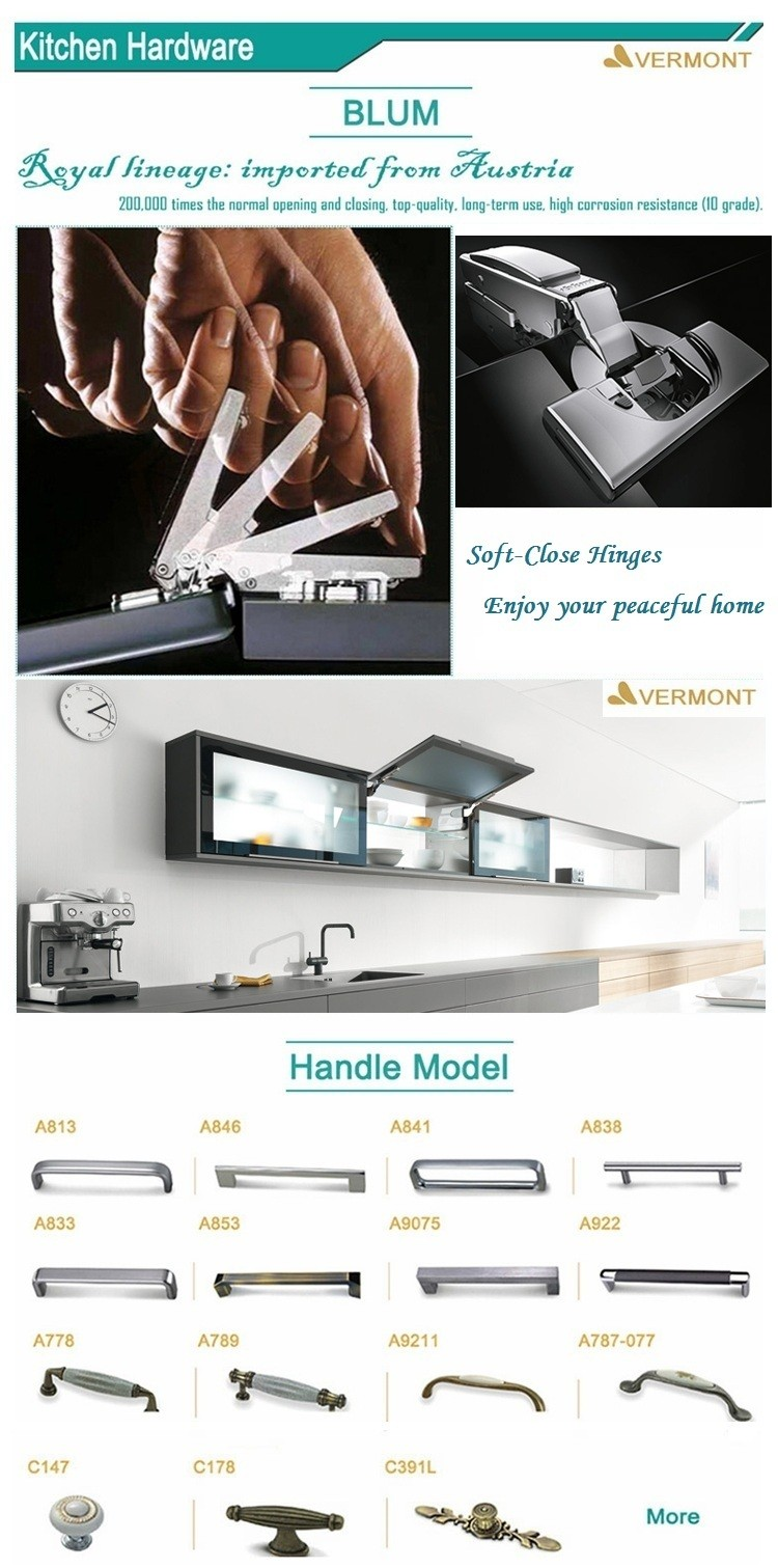 2017 Hangzhou Vermonhouse Bespoke Modulare Weiß Einfache Design Glas ...