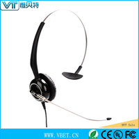 Excellence quality and good after sale service headphones with long cord best voip headset