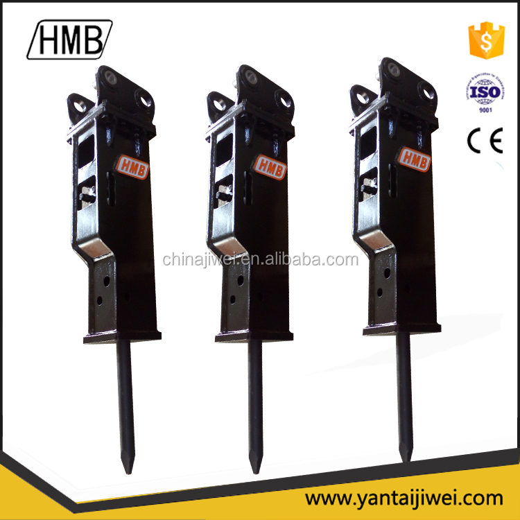 Heavy duty machine hydraulic jack hammer breaker for mini excavator