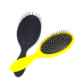 Water transfer printing easy clean detangling hair brush