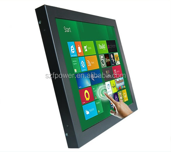 15inch saw/resistive touch monitor open frame touch screen monitor