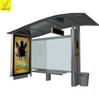 2018 hot sale new style products bus stop shelter