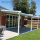Large Motorized Retractable Outdoor Pvc Awning For Front Porch