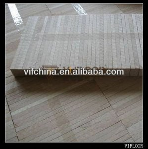 white oak industrial solid wood timber flooring