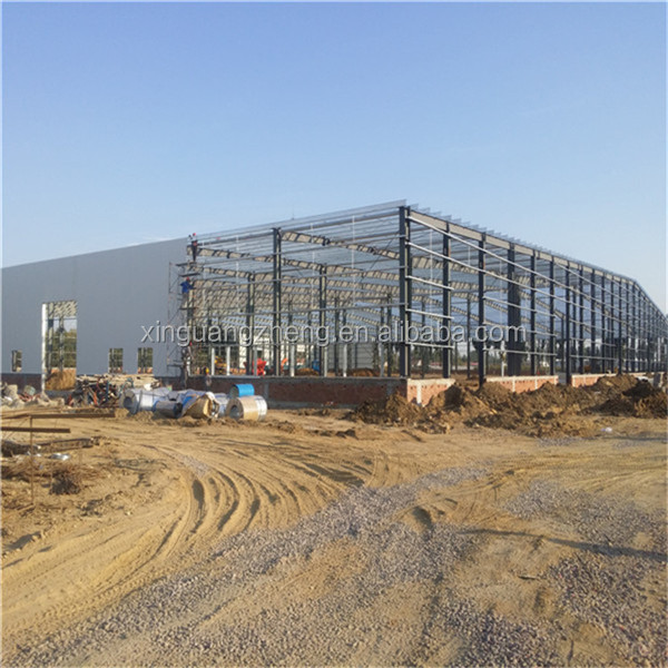 professional big span prefabricated warehouse