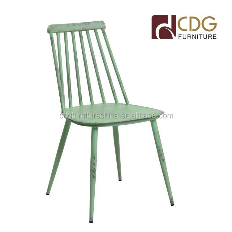 furniture vintage retro industrial french metal aluminium outdoor