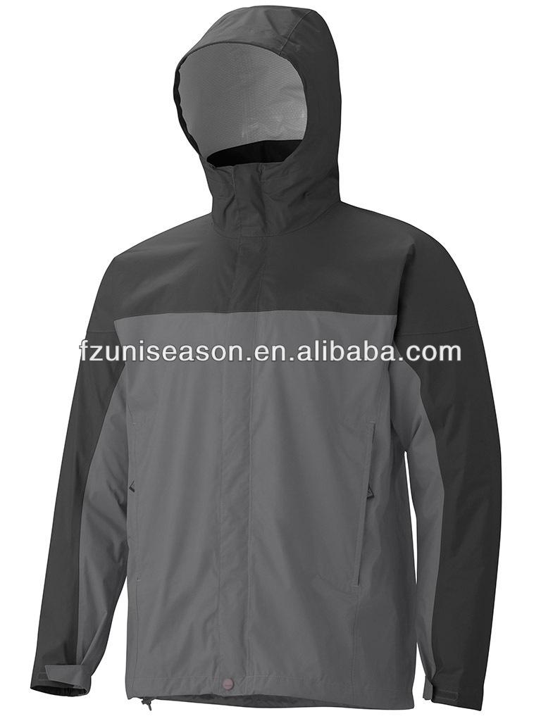 Waterproof Nylon Lightweight Unisex Plain Windbreaker Jacket - Buy ...