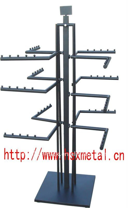 Newest Fashion Hanging Bag Display Stand For Ping Mall Bracelet Flip Product On Alibaba