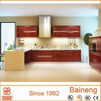 New Design Rosewood Or Beech Wood Kitchen Cabinet From Guangzhou