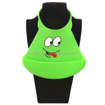 Excellent quality classical nursling silicone baby bibs