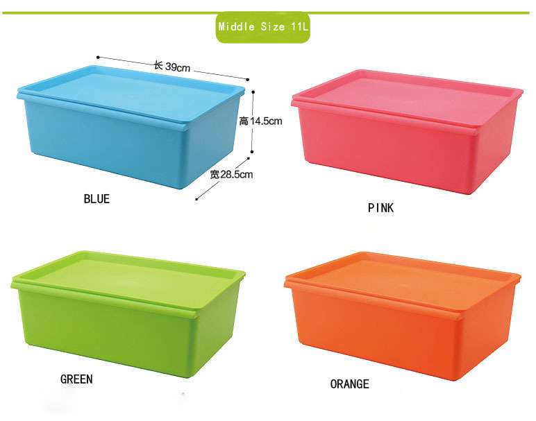 Plastic Storage Containers By Size Listitdallas