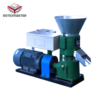 Broiler Chicken Food Processing Machine Poultry Feed Pellet Making
