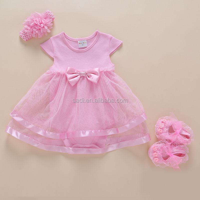 Venta al por mayor vestidos para bebes de 3 meses-Compre online los ...