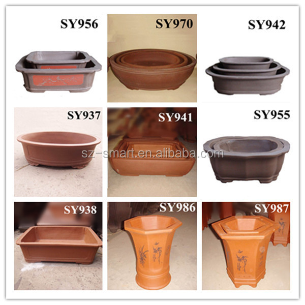 New Product 2015 Terracotta Wholesale Bonsai Pots View Terracotta Wholesale Bonsai Pots Sy Product Details From Shenzhen Smart Imp Exp Co Ltd On Alibaba Com