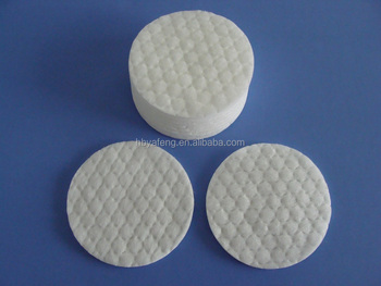 non-woven oval cotton pads