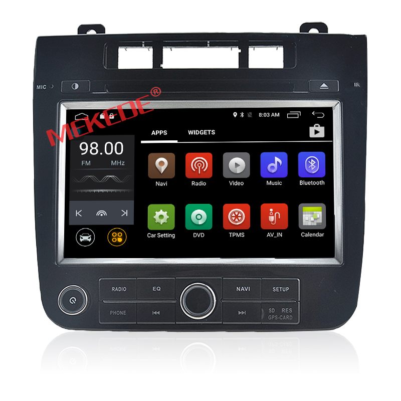 2din touch screen car dvd player for New vw Touareg android 7.1 4 core with 4G wifi obd II gps