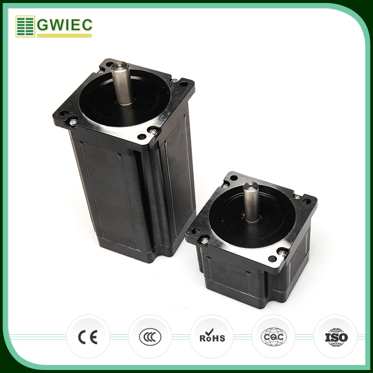 GWIEC China Cheap Price Products 86mm 6A Two Phase Hybrid Nema 34 Gearbox Stepper Motor