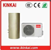 Residential split heat pump water heater with 150L 200L 250L tank