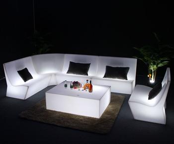 Divani Per Esterni In Plastica : Di plastica all aperto divano giardino led divano impermeabile