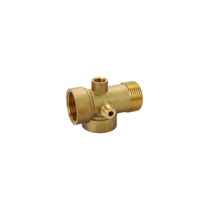 5 way brass pipe fitting