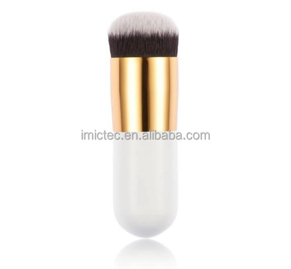 Pro BB Hot Sale Chubby Pier Foundation Brush Flat Makeup Powder Blush Brush for Makeup Cosmetic Make Up Brushes Tools