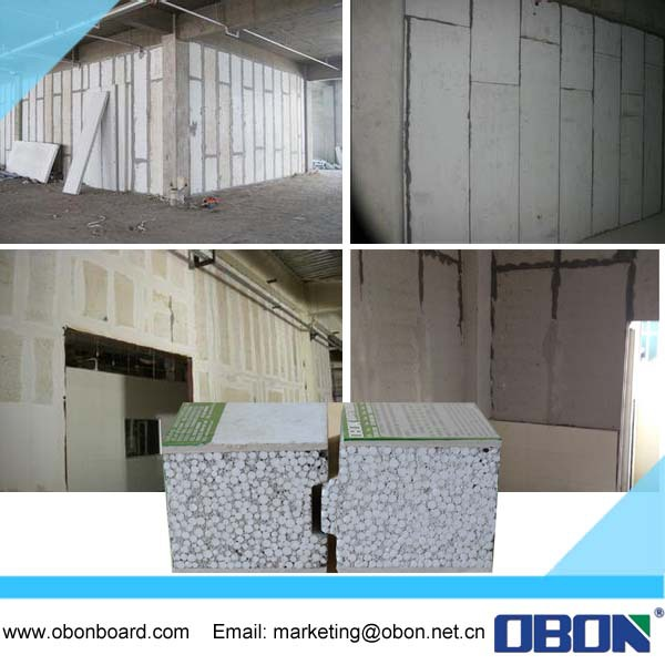 Obon Modern Decorative Exterior Wall Siding Panels For Island City Mall