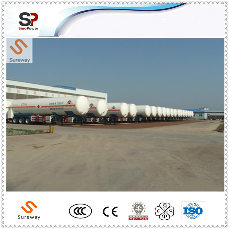 Lorry Tankers for Liquid Oxygen Storage