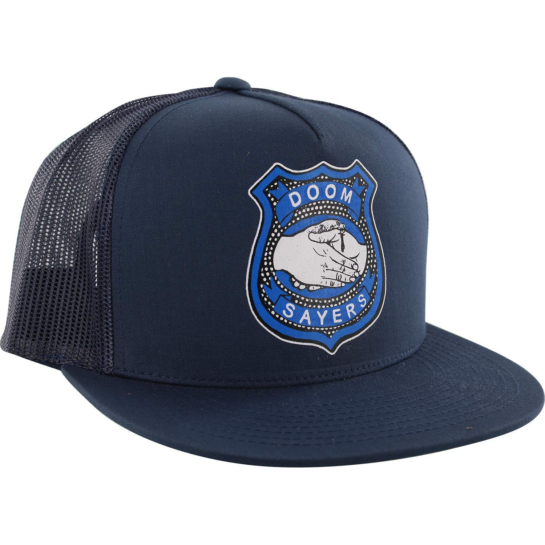 51042c9efaf Get Quotations · Doomsayers Club Corp Guy Navy Mesh Trucker Hat - Adjustable
