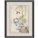 Framed Fine Art Chinese Blossom Flowers Painting Art