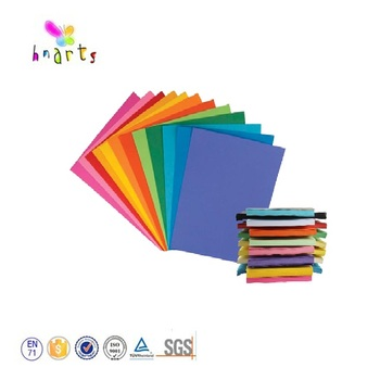 Large size coloured cardboard paper sheets