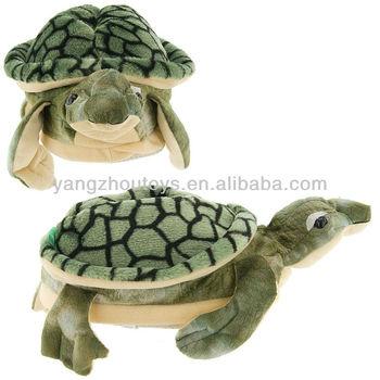476a850d87e Sea Turtle Plush Slippers