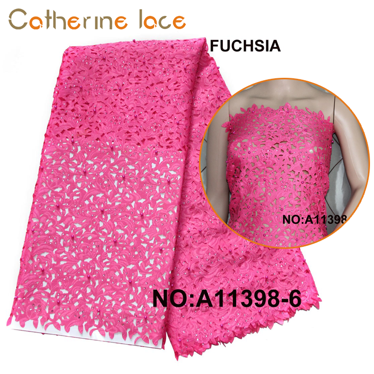 Catherine 2018 Best Design Embroidery Laser Cut Lace Fabrics For Dance Wear