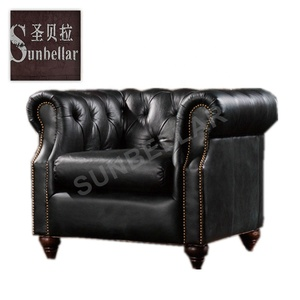 New premium ergonomic sofa bed executive living room fancy sectional sets for full genuine leather