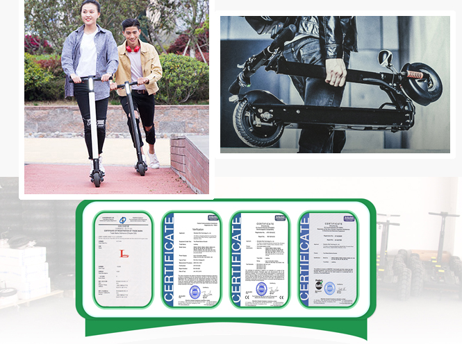 Leadway Two Wheel Foldable Mobility Electric Scooter For