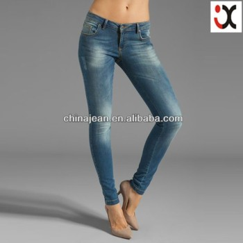 2015 Hot Sale Girls Skinny Jeans From China (jx2042)