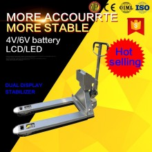 Electronic 1 Ton Hand Pallet Truck weighing scale
