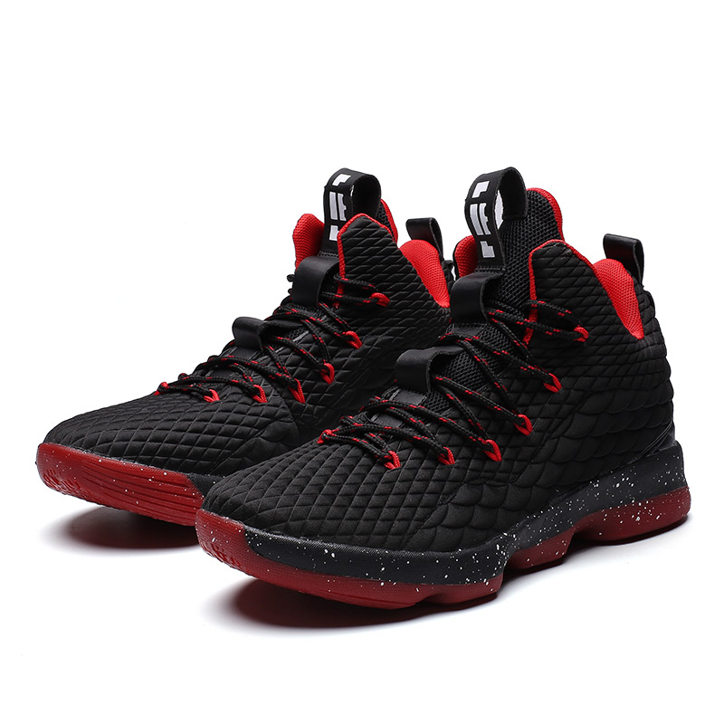 new concept d1af0 dc100 Lebron James 15 The Same Style Basketball Shoes For Boy Comfortable  Cushioning Athletic Shoes Men Outdoor Sport Basket Sneakers - Buy Sport ...