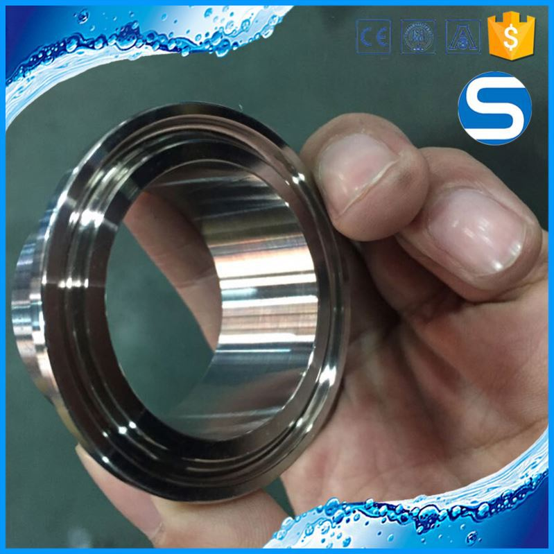 Ornamental stainless steel spring clamp