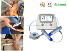 Oceanus 2016 new shockwave therapy device for Quadriceps tendon / patella tendinopathy(double end)