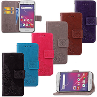 New arrival book style wallet cell phone case for SHV39 flip case