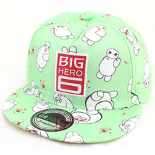 2015 Fashion Children Baseball Cap Letter Big HEOR Hip Hop Flat Hats For Boys and Girls