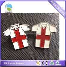 Metal Lapel Pins Clothes T-Shirt Shaped Soft Enamel paint