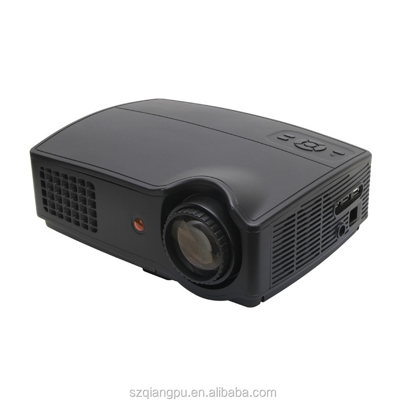 2016 LED OEM LCD Projector Full HD Lamp LED Projector with USB Port HDMI AV VGA <strong>TV</strong>